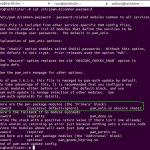 Linux : How to change the Password Hashing Algorithm on linux system