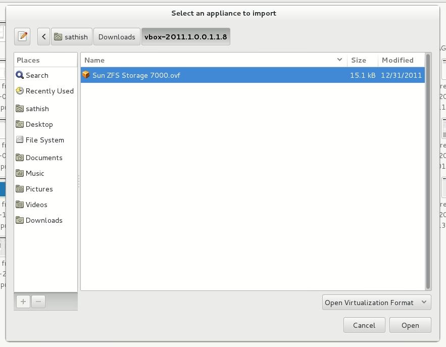 Image import impliance