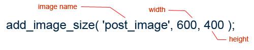 add image size wordpress