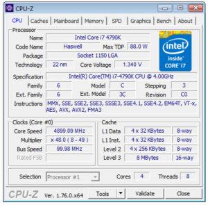 i7-4790-Overclock