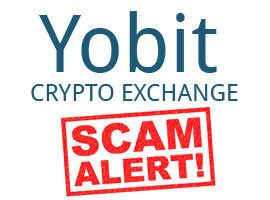 Yobit is a Scam
